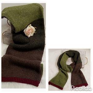 J.Crew Tri-Color Knit Scarf for sale